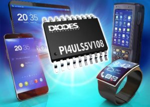 Bidirectional 8-Channel Level Shifter from  Diodes Incorporated Offers Wide Voltage Range and Flexible Output Options