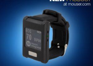 Maxim's Wearable MAXREFDES101 Health Sensor Platform 2.0, Now at Mouser, Enables Advanced Health Monitoring