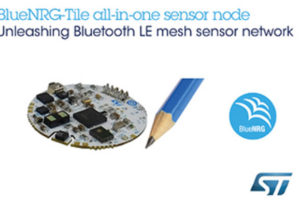 Tiny Coin-Shaped Development Kit from STMicroelectronics Delivers Sensor Fusion, Voice Capturing, and Bluetooth 5.0 Mesh Networking