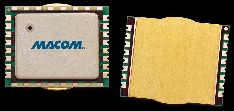 MACOM Introduces Broadband, Multistage GaN-on-Si Power Amplifier Module