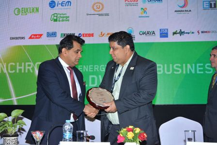 Mr. Amitabh Kant, CEO, NITI Aayog and Mr. Rahul Walawalkar, ED, IESA at Energy Storage India 2019