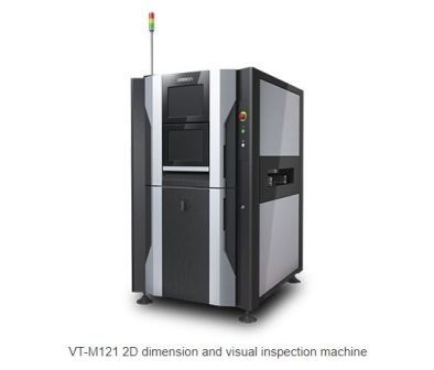 OMRON introduces VT-M121: Industry's first 2D Dimension & Visual Inspection Machine