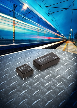 10:1 & 4:1 input DC-DC converters for railway and rugged environment applications launched by XP Power