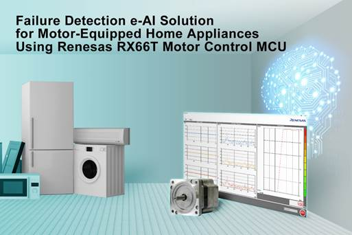 Failure Detection e-AI Solution for Motor-Equipped Home Appliances