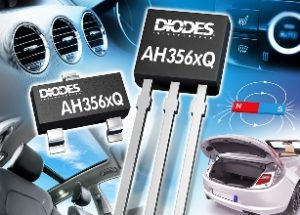 Grade 0 Automotive-Compliant Omnipolar Hall-Effect Switches from Diodes Incorporated are designed for Robust Automotive Applications