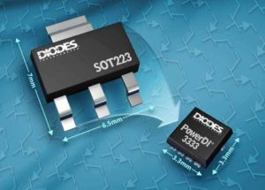 Bipolar Transistors from Diodes Incorporated Feature a 3.3mm x 3.3mm Package and Enable Higher Power Density