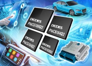 Grade 2 Automotive-Compliant PCIe 4.0 Clocks from  Diodes Incorporated Bring Low Power to Intelligent and Autonomous Automotive Designs