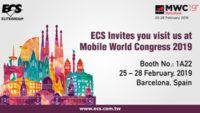 ECSto Unveil Brand-new AI Built-in Products forIoV and Smart Living at MWC 2019