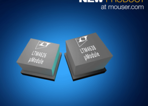 Analog Devices LTM4626 and LTM4638 µModule Buck Regulators Now Available from Mouser Electronics