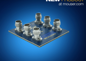 Mouser Electronics Stocks 5G Interconnect Solutions from Amphenol SV Microwave