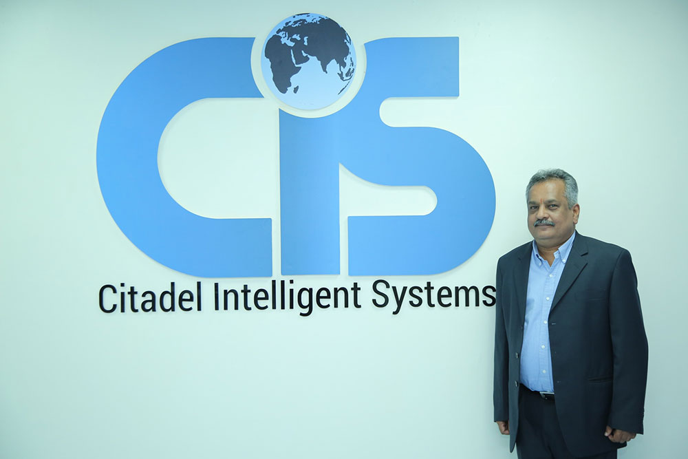 Mr. KK Shetty, CEO & MD, Citadel Intelligent Systems Ltd.