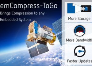 emCompress-ToGo – New software brings compression to even the smallest Embedded Computer System
