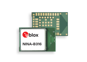 u-blox adds superior integrated PCB antenna option to the NINA-B3 series of Bluetooth low energy modules
