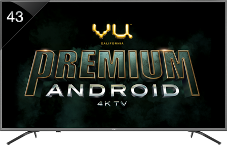 Vu unveils Premium Android 4K TV range promising a stunning experience with Dolby Vision, HDR 10 and 4K Upscaling
