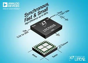 20 V, 15 A Synchronous Silent Switcher 2 Step-Down Regulator