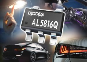 Automotive-Compliant 60V Fast Dimming Linear LED Controller from Diodes Incorporated Targets Automotive LED Lighting Applications