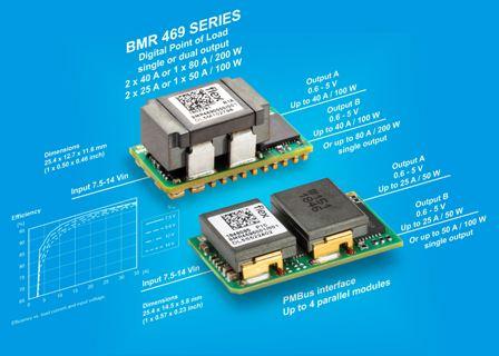 Flex Power Modules introduces dual-output digital PoL regulator for high power density ICT applications