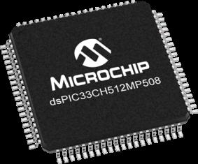dsPIC33CH512MP508-TQFP-80