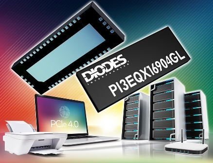 ReDriver from Diodes Incorporated Boosts Signal Quality of High-Speed PCIe 4.0 Interfaces