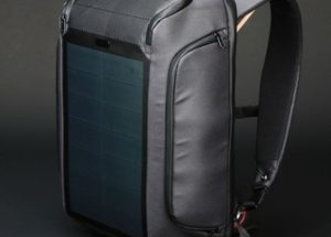 "Kingsons ""Beam Pack"" Solar Backpack from William Penn stay charged in the greenest way!"
