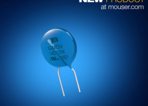 Bourns GMOV Hybrid Components for Overvoltage Protection Now Available from Mouser Electronics