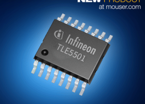 Now at Mouser: Infineon's TLE5501 XENSIV TMR Sensor Offers Highest Auto Safety Level ASIL D on Single Chip