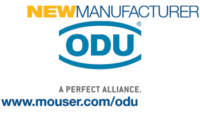 Mouser Electronics Expands Connector Line Card, Signs Global Distribution Agreement with ODU