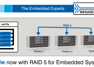 SEGGER introduces RAID5 to Embedded Systems