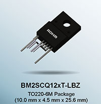ROHM Presents the Industry's First AC/DC Converter ICs with a Built-In 1700V SiC MOSFET