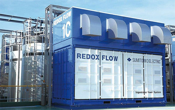 Redox-flow-batteries