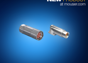 Now at Mouser: TE Connectivity's Intercontec Connectors Provide Modular Power, Signal, Data Solution