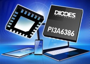USB Type-C Port Switch from Diodes Incorporated Enables Latest Mobile Devices to Continue Supporting Legacy Data and Audio Signals