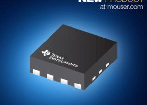 Mouser Electronics Now Stocking Texas Instruments' OPA855  8-GHz Operational Amplifier