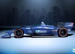 """Sleek """"Mouser Machine"""" Makes Second Appearance at Toronto Indy Race"""