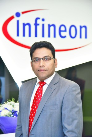Mr. Youvraj Chandrakar, Director & Country Head of Sales for Power Management & Multimedia, Infineon Technologies India