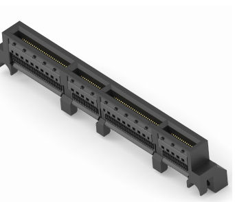 TE Connectivity Introduced Sliver Straddle-Mount Connectors for SFF-TA-1002