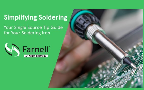 Get the Right Soldering Tip Every Time with New element14 Selector