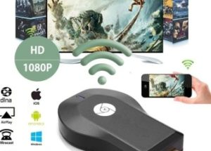 Stream Video to Your TV from Any of Your Smartphones with PremiumAV Wi-Fi HDMI Dongle Wireless Display