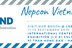 Heilind Asia will Exhibit at I.C.E Booth L05 in NEPCON Vietnam 2019