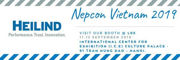 Heilind Asia will Exhibit at I.C.E Booth L05 in NEPCON Vietnam 2019
