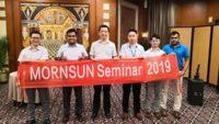 Mornsun shared it's high-efficiency power solutions at the 2019 India seminars