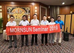 Mornsun shared it's high-efficiency power solutions at the 2019 India seminars