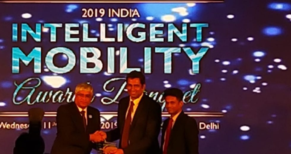 Magenta Group, conferred with the 'EV Charging enabling Technology Leadership award', at 2019 Frost & Sullivan India Mobility Awards