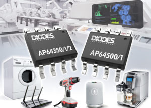 40V, 2.2MHz Synchronous Buck Converters from Diodes Incorporated Deliver High Efficiency across All Loads