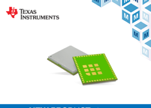 TI's Fully Certified CC3235MODx Dual-Band Wireless Modules Now at Mouser Electronics