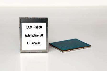 LG Innotek Unveils 5G Communication Module for Automotive