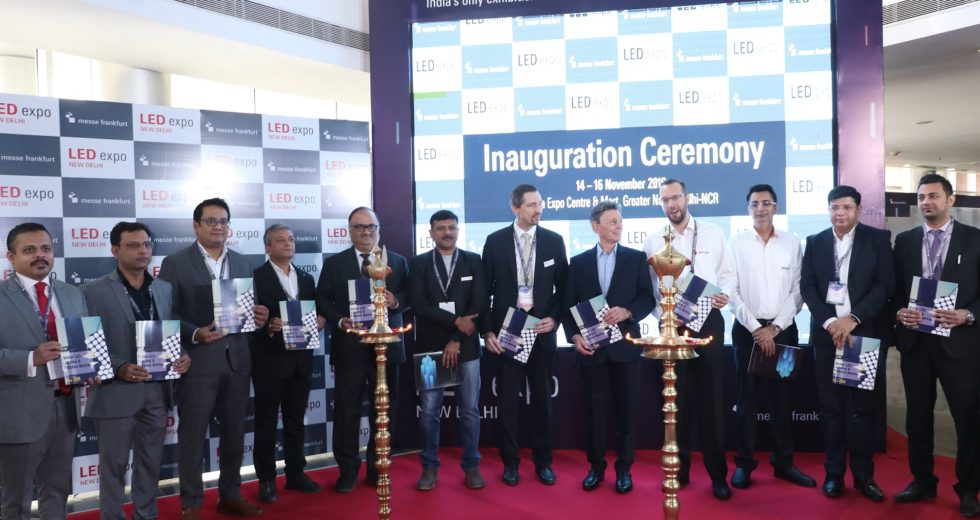 Record-breaking edition of LED Expo New Delhi inaugurated on 14th-Nov-2019