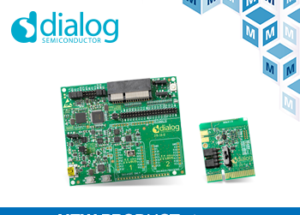 Dialog's DA14531 SmartBond TINY Dev Kits, Now at Mouser, Deliver Low System Cost to Next-Gen IoT Products