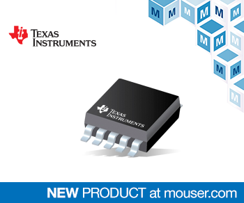 TI's Low-Power DACx0501 DACs with Internal Reference Now at Mouser