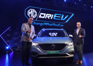 MG pioneers the EV ecosystem in India, unveils India's First Pure Electric Internet SUV – the ZS EV